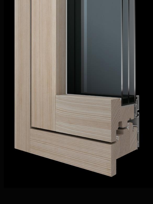Carretta Serramenti Contempora 100 produzione finestre in legno e alluminio per abitazioni e contract a zanè vicenza veneto italia