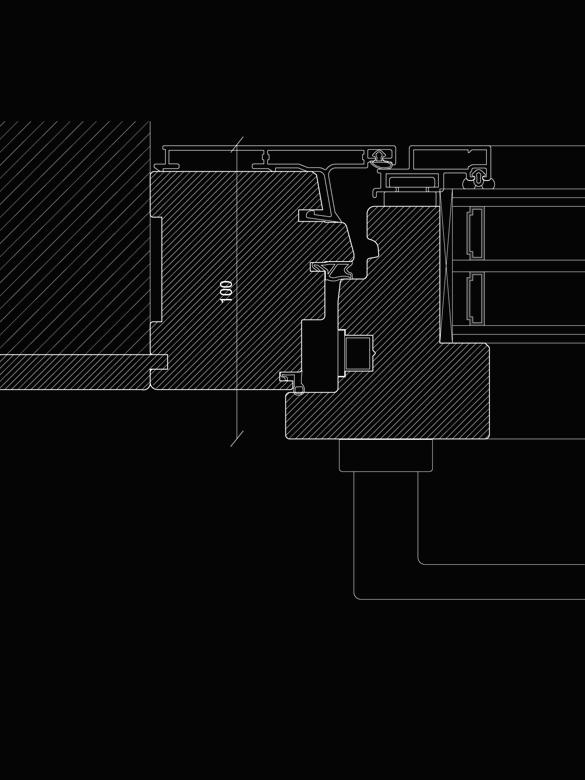 Carretta Serramenti Modulor 100 produzione finestre in legno e alluminio per abitazioni e contract a zanè vicenza veneto italia
