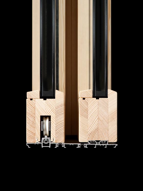 Carretta Serramenti Therma 80 Alzante produzione finestre in legno e alluminio per abitazioni e contract a zanè vicenza veneto italia