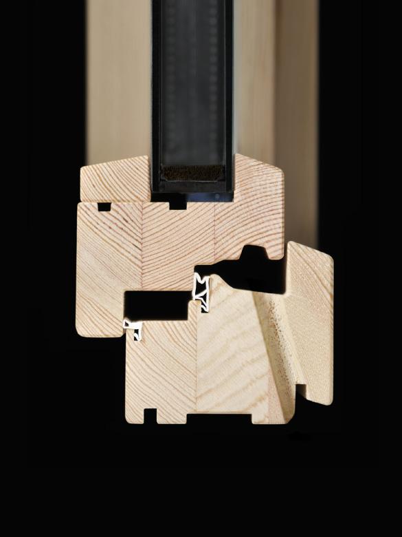 Carretta Serramenti Therma 80 produzione finestre in legno e alluminio per abitazioni e contract a zanè vicenza veneto italia