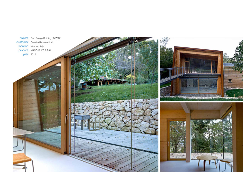 Carretta Serramenti produzione finestre in legno e alluminio Maico reference