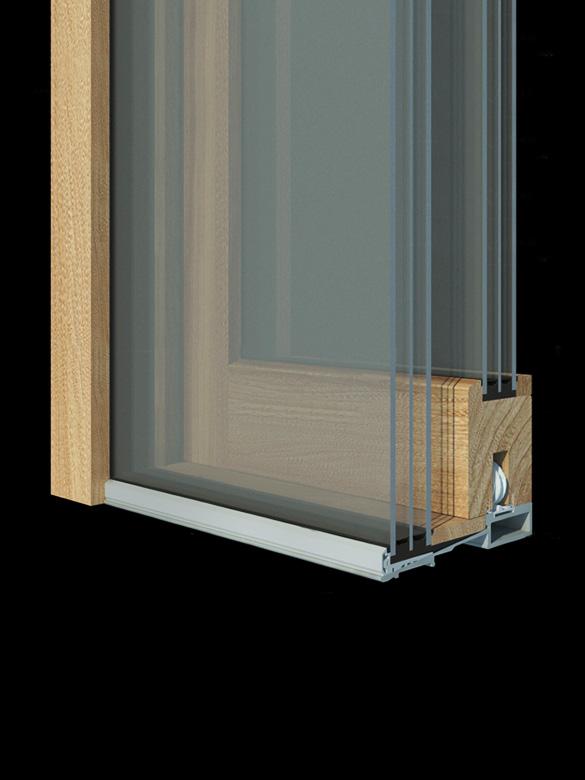 Carretta Serramenti Naturalia 92 alzante zero produzione finestre in legno e alluminio per abitazioni e contract a zanè vicenza veneto italia
