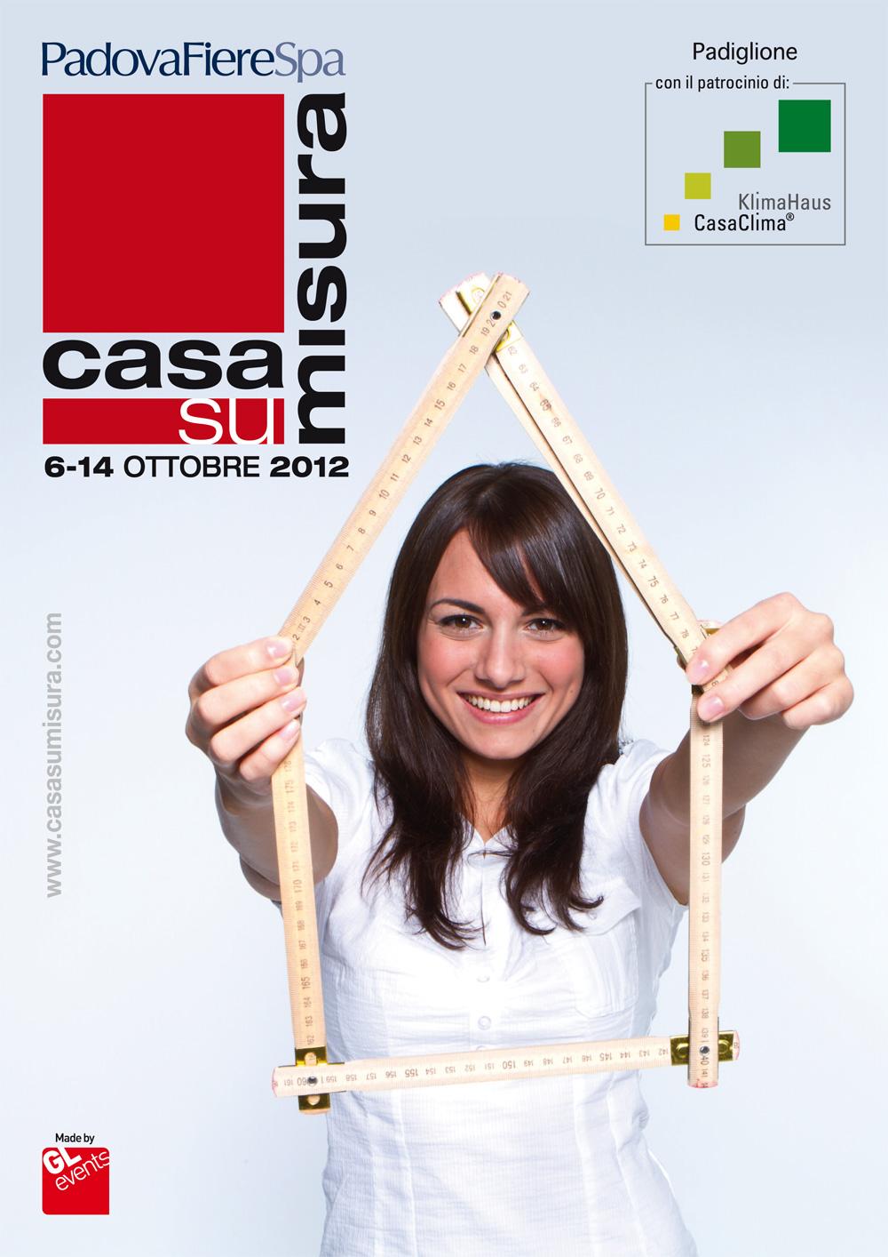 Carretta Serramenti produzione finestre in legno e alluminio Casa su Misura 2012