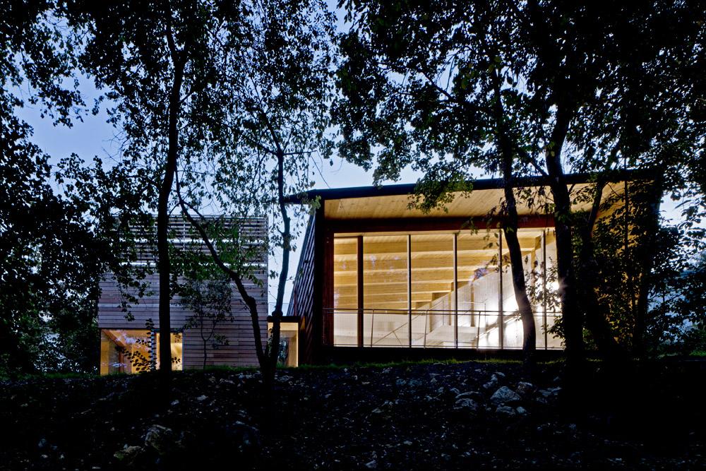 Carretta Serramenti produzione finestre in legno e alluminio Progetto Traverso e Vighy