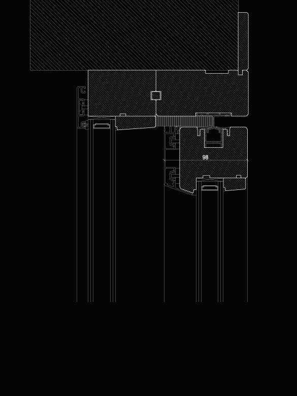 Carretta Serramenti Dual 80 alzante zero produzione finestre in legno e alluminio per abitazioni e contract a zanè vicenza veneto italia