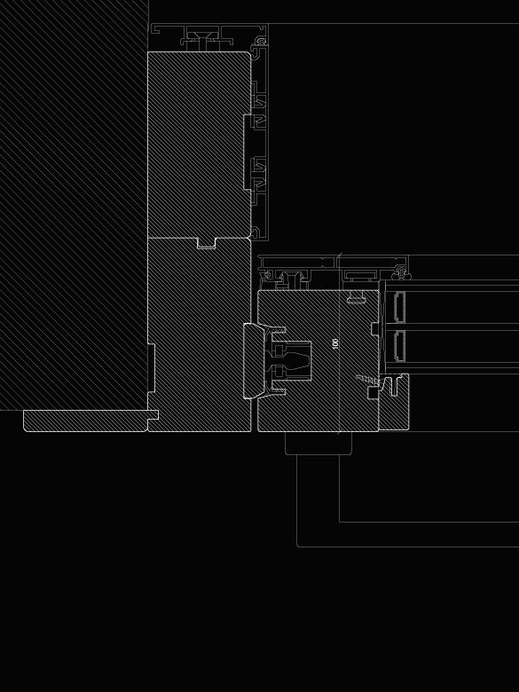 Carretta Serramenti Modulor 100 alzante produzione finestre in legno e alluminio per abitazioni e contract a zanè vicenza veneto italia
