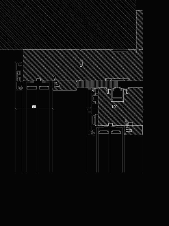 Carretta Serramenti Modulor 100 alzante zero produzione finestre in legno e alluminio per abitazioni e contract a zanè vicenza veneto italia