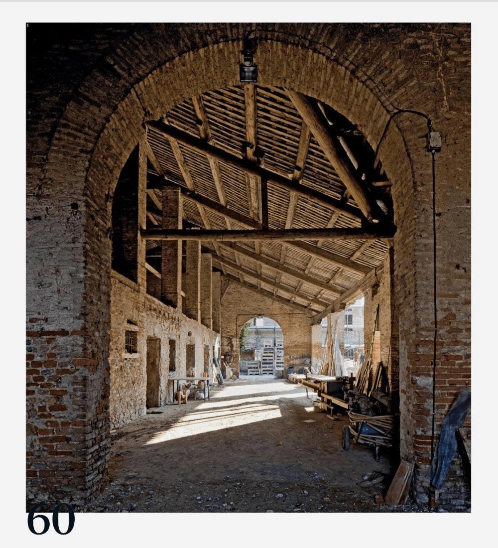 Carretta Serramenti produzione finestre in legno e alluminio rivista Casabella Corte Bertesina