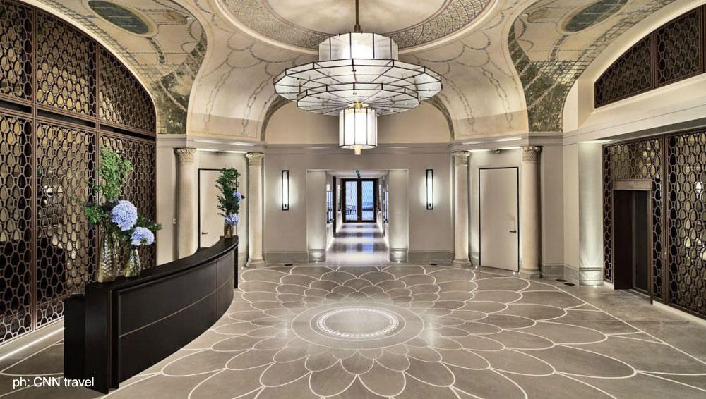 Carretta Serramenti produzione finestre in legno e alluminio Hotel Lutetia Paris